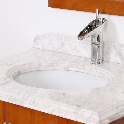 ELITE Luxury Bathroom Chrome Finish Single Lever Faucet for Sink,Vanity 8807C by ELITE (Image #4)