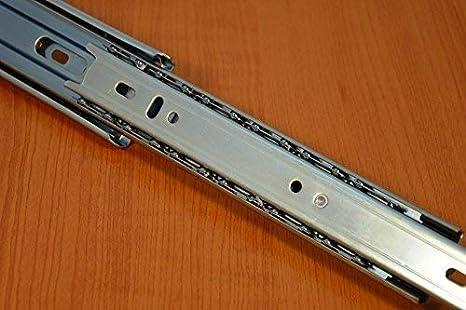Glissi/ère de Tiroir Longueur 500 mm Rail telescopique 35 mm