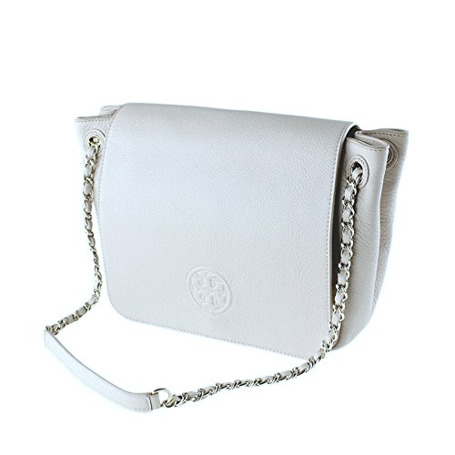 Bombe Bag Tory Shoulder Small Burch Women's Handbag 46176 Ivory Flap New ARwqwn4xaZ