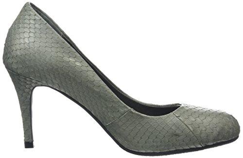 Sofie Schnoor Snakeskin Pump Damen Pumps Grau (Dark Grey)