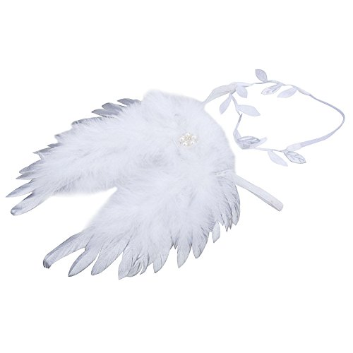 Baby Girls Angel Wings Set Photography Props - 3
