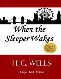 When the Sleeper Wakes: Large Print Edition