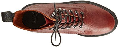 Dr Martens Core Hadley - Botas chukka de cuero unisex rojo - Oxblood