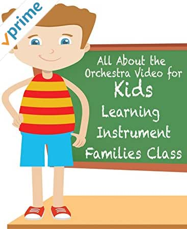 All About the Orchestra Video for Kids Learning Instrument Families Class