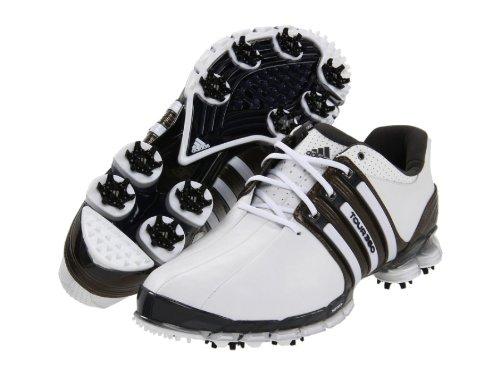 Adidas Tour360 ATV Golf Shoes White/Scout Metallic/White Men's 11 Medium