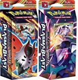 Pokemon Plasma Blast Theme Deck Set Includes Genosect & Volcarona