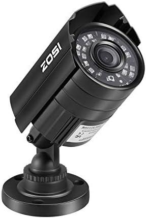 ZOSI 720P HD 1280TVL Hybrid 4-in-1 TVI CVI AHD 960H CVBS CCTV Camera 24PCS IR-LEDs Home Security Day Night Waterproof Camera Aluminum Metal Housing For HD-TVI