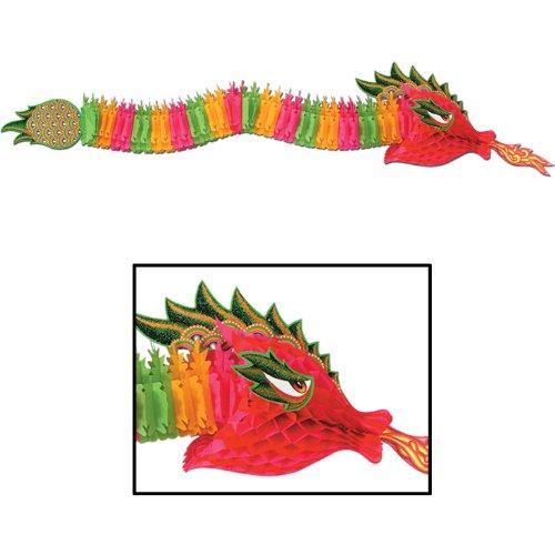 Beistle 55852 Tissue Dragon, 6-Feet ()