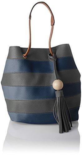 Grey in Lola Grey SwankySwans Tote Womens 2 Stripe Tote Dark 1 Bag qwxnIFzxf