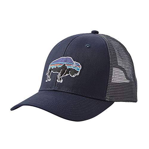 Patagonia Fitz Roy Bison Trucker Hat (Navy Blue) from Patagonia