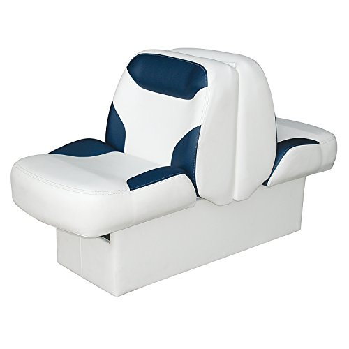 Wise 8WD1225-0031 Premier Lounge Seat with 2-Way Slide Out, White/Navy