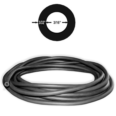 3/8in Polespear Band / Sling Latex Rubber Tubing (#606) 6 FEET