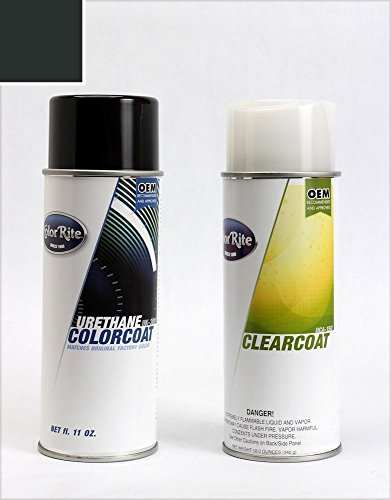 ColorRite Aerosol Automotive Touch-up Paint for BMW All - Island Green Metallic Clearcoat 273 - All-Inclusive Package