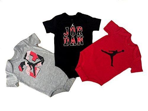 Nike Michael Jordan Infant 3 Pcs Layette Set (6/9M)