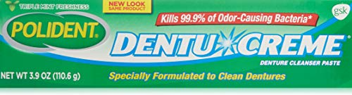 Polident Dentu-Creme 3.90 oz (Pack of - Denture Cleaner