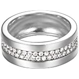 Esprit Jewels Damen-Ring 925 Sterling Silber Pure Pave ESRG92214A1