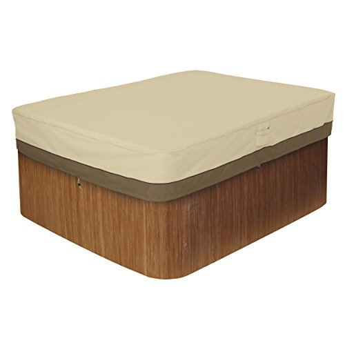 Classic Accessories Veranda Rectangular Hot Tub Cover, Large