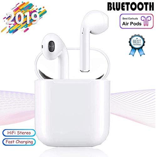 Bluetooth Earbuds, Bluetoooth 5.0 Headphones Wireless Earbuds 30H Cycle Playtime in-Ear Wireless Headphones Hi-Fi Stereo Sweatproof Earphones Sport Headsets Buit-in Mic for Work Running Travel Gym