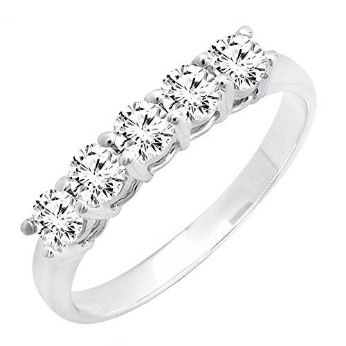 0.85 Ct Ladies Diamond - 1