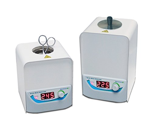 Benchmark - MicroBead Sterilizer: 140mm high - 300 gram capacity - For small lab tools by Benchmark
