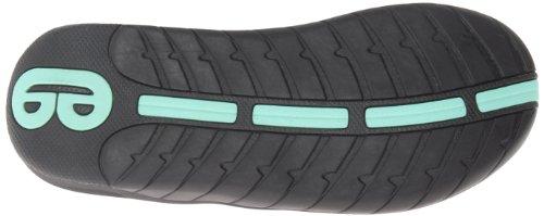 Waterproof Athletic Black Black Footbed Cushion Soft Aqua 3 Sports Slap Flip Flops Womens For Sandals Reef Women With aIxqB6w