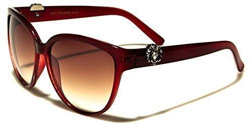 Lunettes chat Kleo GRATUIT SPORT inclus MODE soleil Rouge CONDUITE poche Femmes de d'oeil Mode beachutsunglasses qwFxId4F