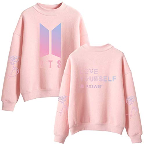 Sweat Album Bts Rose shirt Love Homme Oliphee New Answer Yourself p5Pwt4Wq7