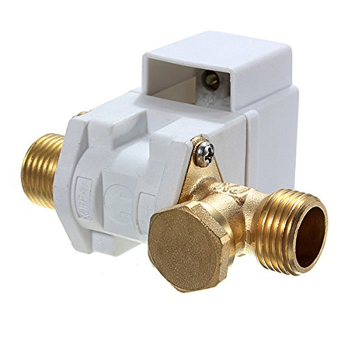 AC 220V 1/2Inch Electric N/C Solenoid Valve For Water Air by Ologymart