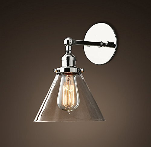 Saint mossi vintage industrial modern contemporary glass lampholder saint mossi vintage industrial modern contemporary glass lampholder sconce wall lights shade edison aloadofball Gallery