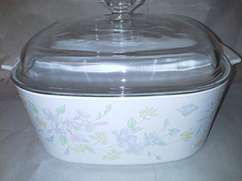 Corning Ware Pastel Bouquet dutch oven 5 liter
