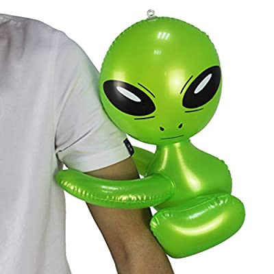 NUOBESTY Party Inflatable Toy Funny PVC Toy Creative Inflatable Arm Alien Toy: Health & Personal Care