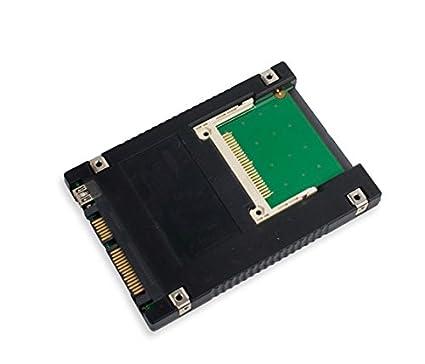 Dual Interface Compact Flash CF to SATA II or USB 2.0 2.5 Bootable Enclosure Adapter