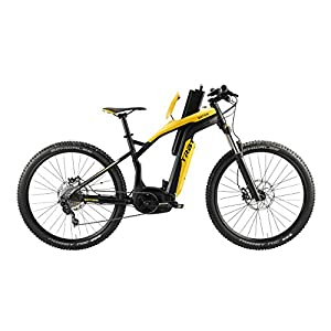 "BESV Trb1 20MPH Xc M 440 MTB Electric Bicycle, Yellow, 17""/Medium"