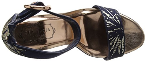 Punta Baker Af Multicolore Stardust Chiuso Testo Ted stardust Donne Jewll Tacchi CqBHxw