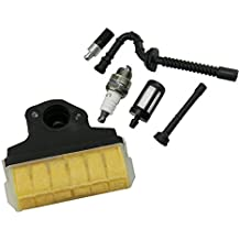 HIPA Air Filter + Spark Plug + Fuel / Oil Line Filter for STIHL 021 023 025 MS210 MS230 MS250 Chainsaw