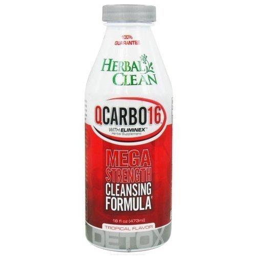 Herbal Clean QCarbo - Tropical (16 fl oz) ( Multi-Pack)