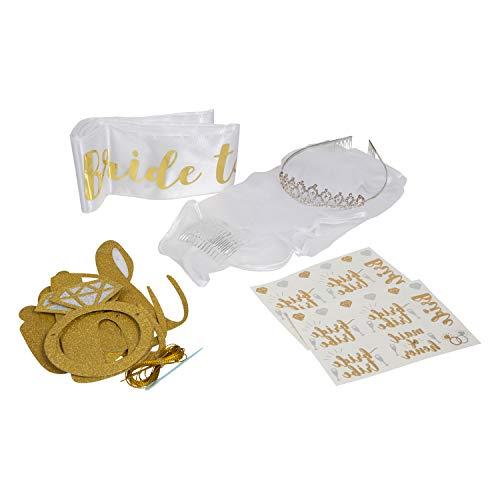 Houseables Bachelorette Decorations Kit, Bridal Shower Decoration, 10