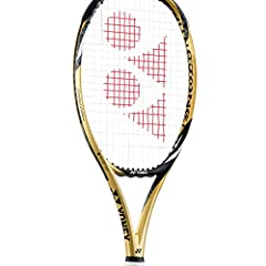 Yonex is commemorating Naomi Osaka`s rise to world number one by releasing a limited edition EZone 98 Tennis Racquet. The frame uses gold as the primary color with black and white accents. There are only 1,300 of these special edition racquet...