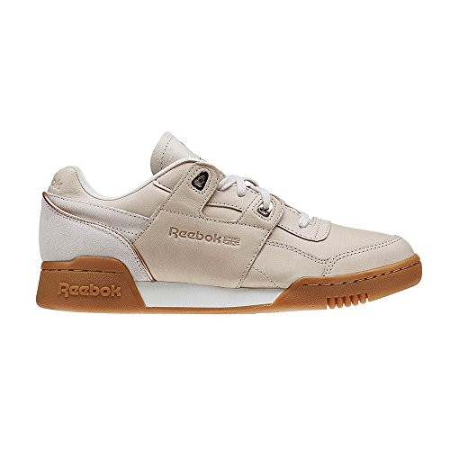 Zapatillas Reebok Workout Lo Plus Golden Vegtan Rose Gold Multicolor