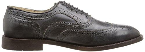 H By Hudson Mens Heyford Calf Oxford Shoe Black bqkuk