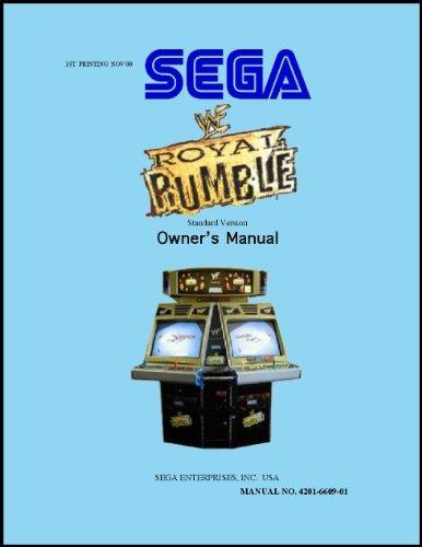 WWF Royal Rumble Arcade Game Service & Repair Manual