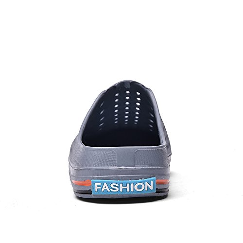 ESDY Clogs Sandals Womens Men Shoes Quick Slippers Walking Drying Grey Garden qR6qwr