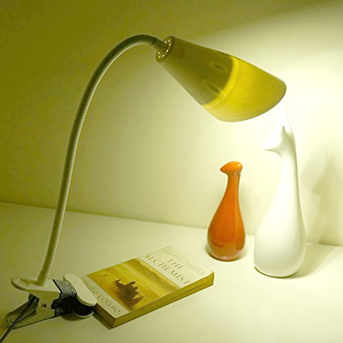 TUNBG Clip to Learn Desk lamp Downlight dimmer Color Light USB Small lamp Gift Light, Plug in