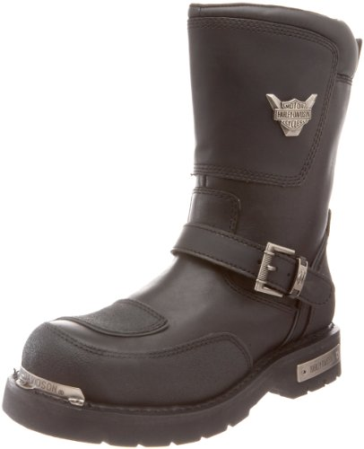Shift Motorcycle Boots - Harley-Davidson Men's Shift Motorcycle Boot,Black,8 M US