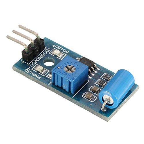 LaDicha Sw-420 Módulo Sensor De Movimiento Vibración Interruptor De Sensor De Alarma Módulo Para Arduino: Amazon.es: Hogar