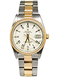 Date automatic-self-wind mens Watch 15223 (Certified Pre-owned)