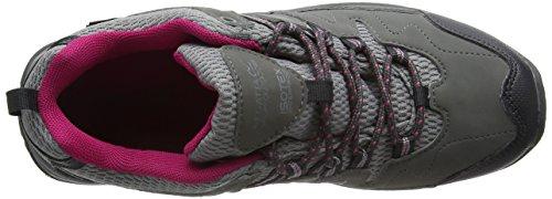 Regatta Lady Holcombe - Zapatos de Low Rise Senderismo Mujer Gris (Steel/vivaci)