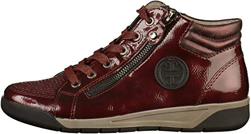 Womens Red Sneakers Jenny 22 64704G ESIgSqnBw
