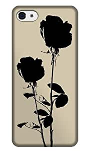 WMSHOPE? iPhone 4 4s Case Cover ROSE BACK