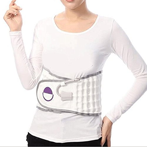 Finlon Spinal Air Traction Physio Decompression Back Belt Lumbar Pain Lower Waist Brace by Finlon